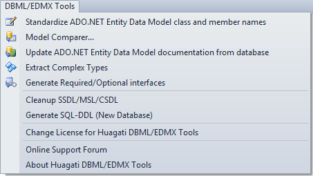Huagati DBML/EDMX Tools - Visual Studio Marketplace